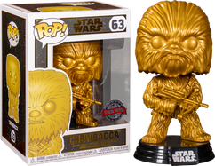 Star Wars - Chewbacca Metallic Gold Pop! Vinyl Figure