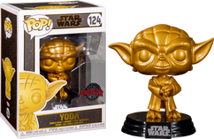 Star Wars - Yoda Metallic Gold Pop! Vinyl Figure