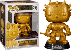 Star Wars - Darth Maul Metallic Gold Pop! Vinyl Figure