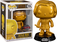 Star Wars - Kylo Ren Metallic Gold Pop! Vinyl Figure