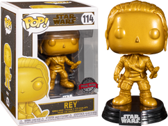 Star Wars - Rey Metallic Gold Pop! Vinyl Figure