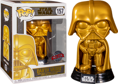 Star Wars - Darth Vader Metallic Gold Pop! Vinyl Figure