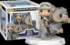Star Wars Episode V: The Empire Strikes Back - Luke Skywalker on Tauntaun Deluxe Pop! Vinyl Figure