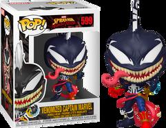 Spider-Man: Maximum Venom - Venomized Captain Marvel Pop! Vinyl Figure