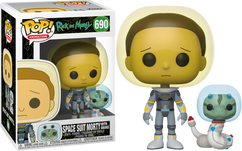 Rick and Morty - Morty in Space Suit with Snake Pop! Vinyl Figure