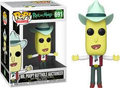 Rick and Morty - Mr. Poopy Butthole Auctioneer Pop! Vinyl Figure