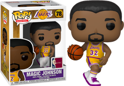 NBA Basketball - Magic Johnson L.A. Lakers Pop! Vinyl Figure