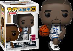 NBA Basketball - Shaquille O'Neal Orlando Magic Home Jersey Pop! Vinyl Figure