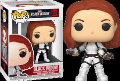 Black Widow (2020) - Black Widow in White Suit Pop! Vinyl Figure