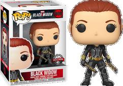 Black Widow (2020) - Black Widow in Grey Suit Pop! Vinyl Figure