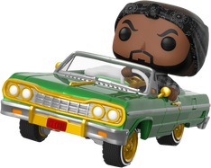 Ice Cube - Ice Cube with Impala Pop! Rides Vinyl Figure