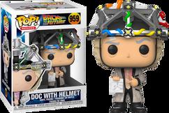 Back To The Future - Dr. Emmett Brown with Helmet Pop! Vinyl Figure
