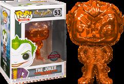Batman: Arkham Asylum - The Joker Orange Chrome Pop! Vinyl Figure