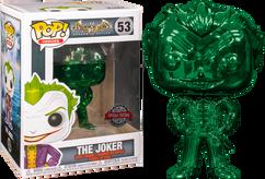 Batman: Arkham Asylum - The Joker Green Chrome Pop! Vinyl Figure