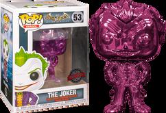 Batman: Arkham Asylum - The Joker Purple Chrome Pop! Vinyl Figure
