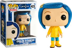 Coraline - Coraline in Raincoat Diamond Glitter Pop! Vinyl Figure