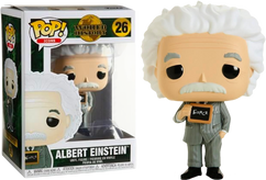 Albert Einstein - Albert Einstein Pop! Vinyl Figure