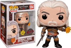 The Witcher 3: Wild Hunt - Geralt Igni Glow in the Dark Pop! Vinyl Figure