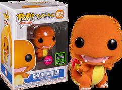 Pokemon - Charmander Flocked ECCC2020 Pop! Vinyl Figure
