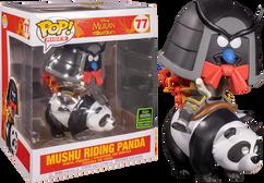 Mulan (1998) - Mushu on Panda ECCC2020 Pop! Rides Vinyl Figure