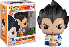 Dragon Ball Z - Vegeta Eating Noodles ECCC2020 Pop! Vinyl Figure