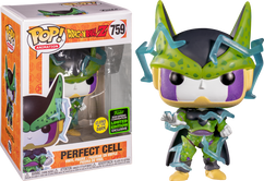 Dragon Ball Z - Perfect Cell Glow in the Dark ECCC2020 Pop! Vinyl Figure