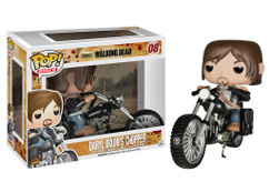 Daryl Dixon With Chopper - The Walking Dead  - Pop! Vinyl Television Figure