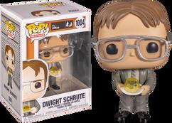 The Office - Dwight Schrute with Jello Stapler Pop! Vinyl Figure
