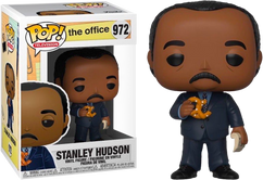 The Office - Stanley Hudson with Pretzel Pop! Vinyl Figure