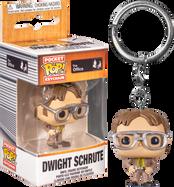 The Office - Dwight Schrute Pocket Pop! Vinyl Keychain