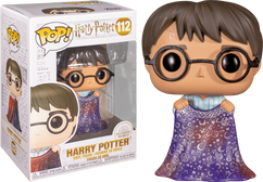 Harry Potter - Harry with Invisibility Cloak Pop! Vinyl Figure