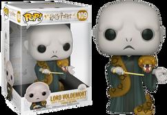 """Harry Potter - Voldemort with Nagini 10"""" Pop! Vinyl Figure"""