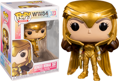 Wonder Woman 1984 - Wonder Woman Gold Armour Power Pose Pop! Vinyl Figure