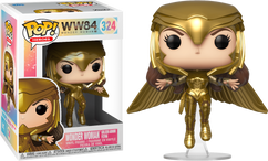 Wonder Woman 1984 - Wonder Woman Gold Armour Flying Pose Pop! Vinyl Figure