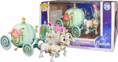Cinderella - Pumpkin Carriage Pop! Rides Vinyl Figure