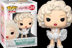 Marilyn Monroe - Marilyn Monroe in White Dress Pop! Vinyl Figure