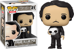 Edgar Allan Poe - Edgar Allen Poe with Skull Pop! Vinyl Figure