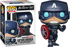 Marvel's Avengers (2020) - Captain America Pop! Vinyl Figure