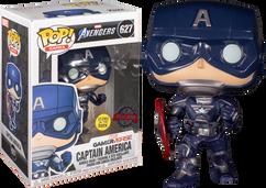 Marvel's Avengers (2020) - Captain America Glow in the Dark Pop! Vinyl Figure