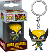 Marvel Zombies - Wolverine Zombie Pocket Pop! Vinyl Keychain