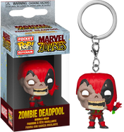 Marvel Zombies - Deadpool Zombie Pocket Pop! Vinyl Keychain