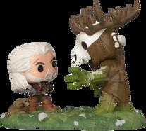 The Witcher 3: Wild Hunt - Geralt vs Leshen Game Moments Pop! Vinyl Figure 2-Pack