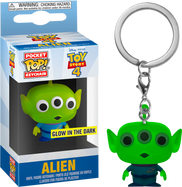 Toy Story 4 - Alien Glow in the Dark Pocket Pop! Vinyl Keychain
