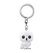 Harry Potter - Hedwig Flocked Pop! Vinyl Keychain