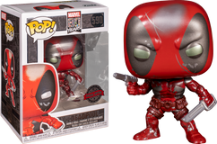 Deadpool - Deadpool First Appearance Metallic 80th Anniversary Pop! Vinyl Figure