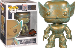 X-Men - Wolverine Patina 80th Anniversary Pop! Vinyl Figure