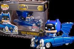 Batman - Batman with 1950 Batmobile 80th Anniversary Metallic Pop! Rides Vinyl Figure