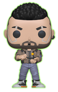 Cyberpunk 2077 - V-Male Glow in the Dark Pop! Vinyl Figure