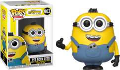 Minions 2: The Rise Of Gru - Pet Rock Otto Pop! Vinyl Figure