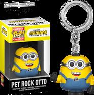 Minions 2: The Rise of Gru - Pet Rock Otto Pocket Pop! Vinyl Keychain